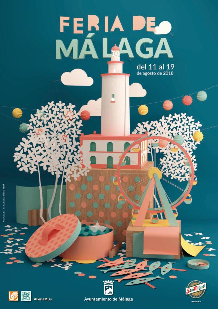 Plakat Feria de Malaga 2018