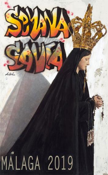 Plakat Wielki Tydzień Malaga 2019
