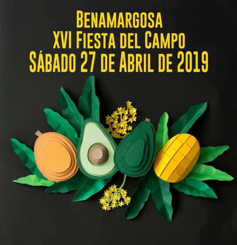 Plakat reklamujący Fiesta del Campo Foto: Ayuntamiento de Benamargosa