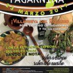 Plakat promujący Día de la Tagarnina.Foto: Ayunatmiento de Villanova del Rosario.