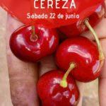 Plakat reklamujący Día de la Cereza. Foto: Ayuntamiento de Alfarnate.