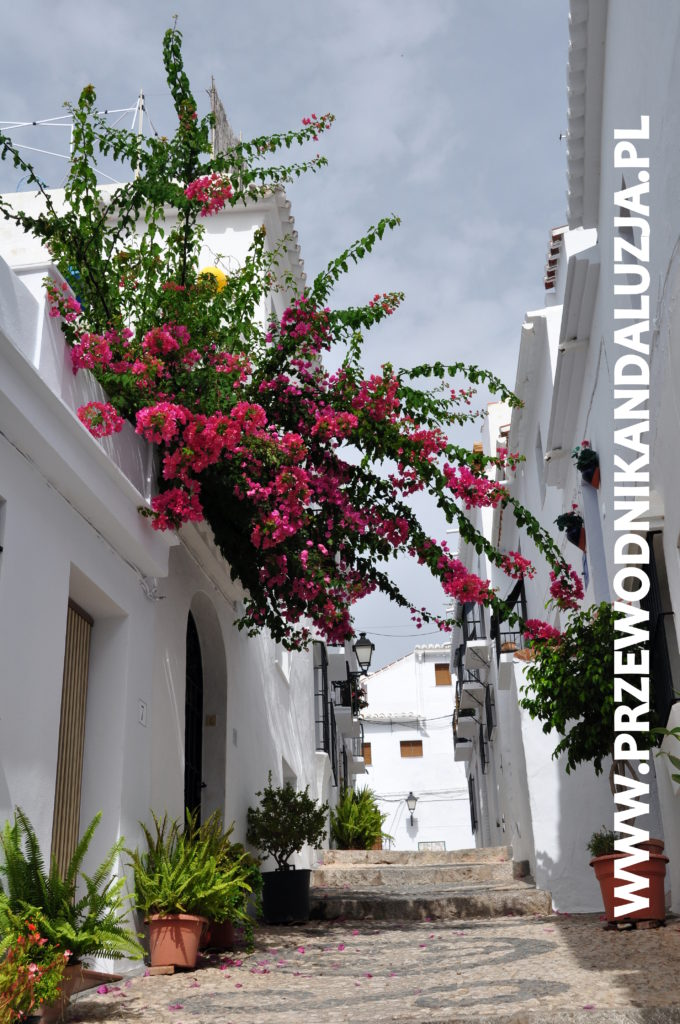 Frigiliana - białe miasteczko w prowincji Malaga. Foto: Przewodnik Andaluzja.