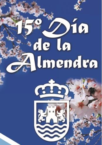 Plakat reklamujący Dia de la Almendra w Almogía. Foto: Ayuntamiendo de Almogía.